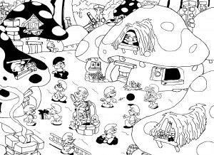 şirinler Boyama Sayfası şirinler Character Fictional Characters