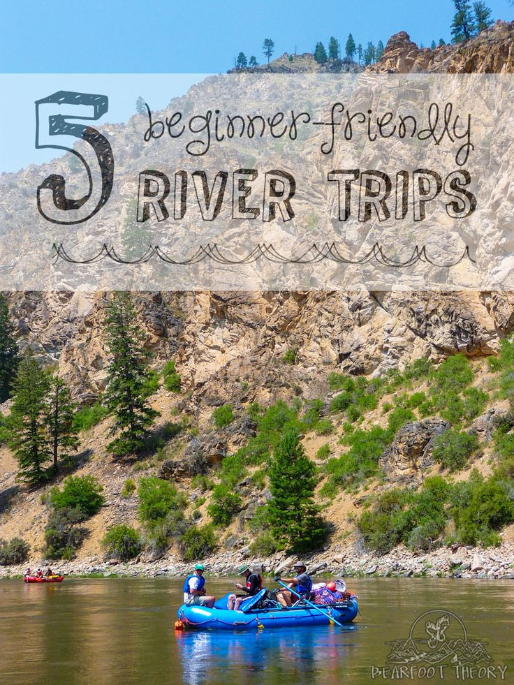 5 River Trips for Beginners