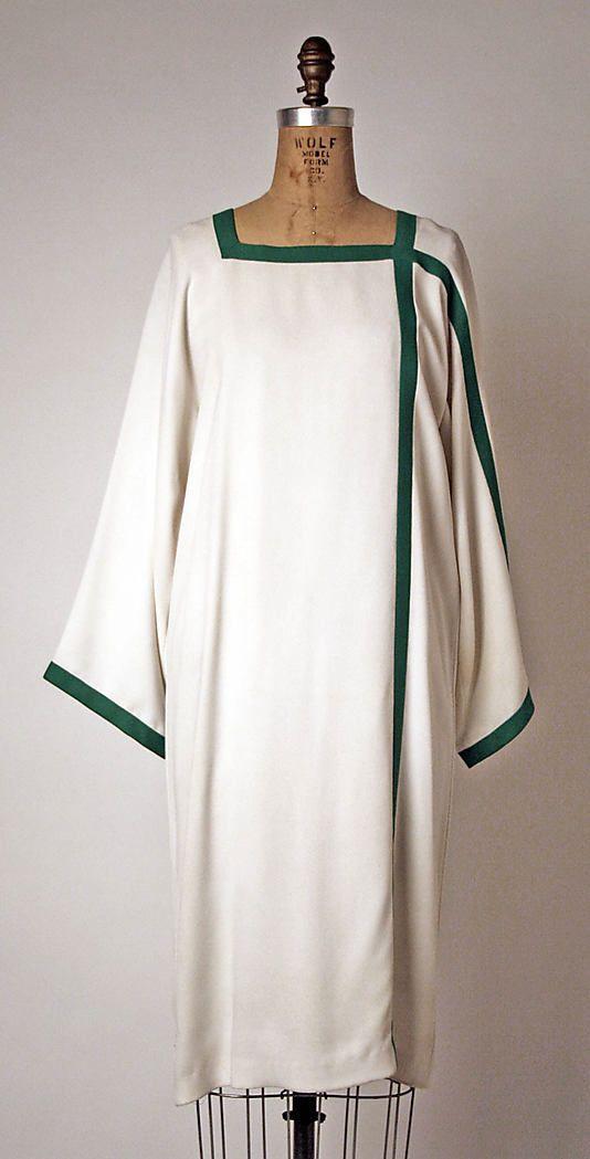 Dress, Geoffrey Beene  (American, 1927–2004)   Date: ca. 1974 Culture: American Medium: rayon