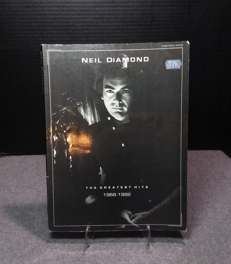 Neil Diamond The Greatest Hits 1966-1992 Sheet Music Piano Vocal Guitar Book
