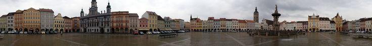 České Budějovice: Náměstí Přemysla Otakara II