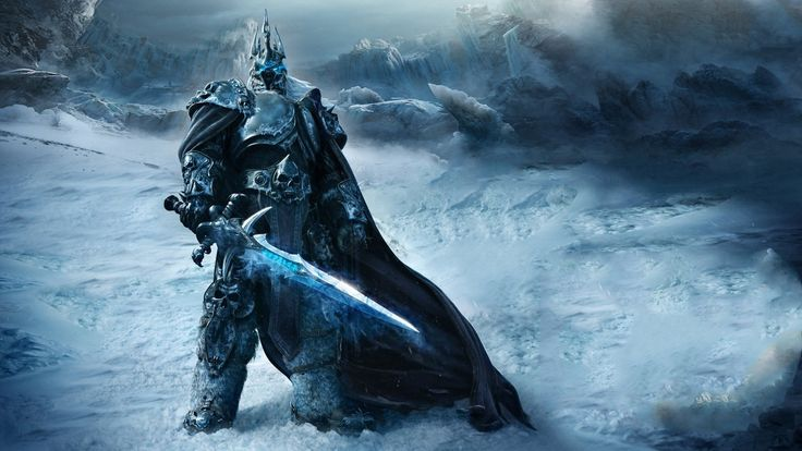 3840x2160 Wallpaper game, warrior, world of warcraft, wrath of the lich king