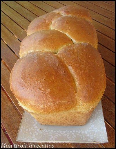 Mon tiroir à recettes - Blog de cuisine: Brioche moelleuse au Kitchenaid