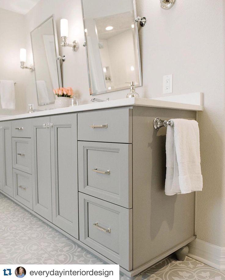 Master bath cementtileshop master bath pinterest for Cabinet salle de bain