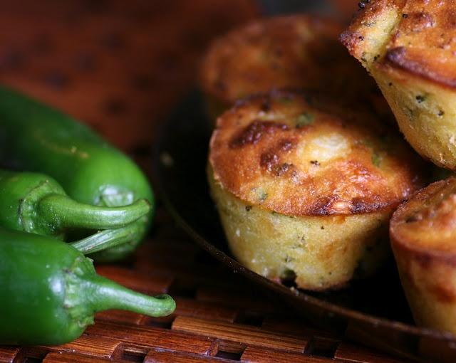Jalapeno Cheddar Broccoli Corn Bread | Muffins | Pinterest