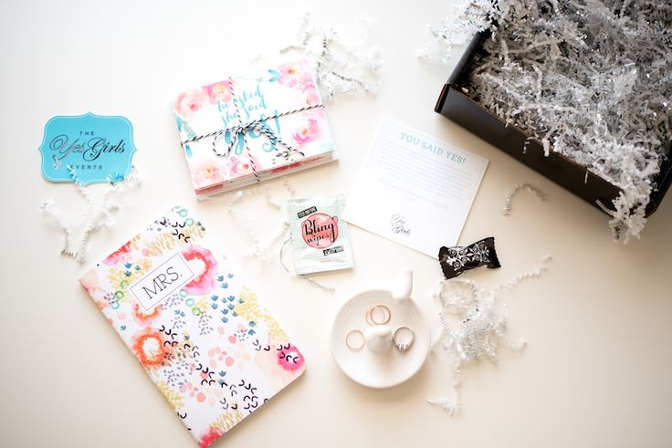 """Introducing the """"Just Engaged"""" Gift Box"""