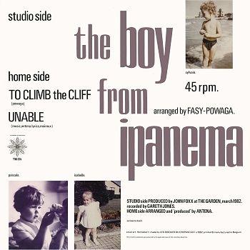 "antena, the boy from ipanema belgian 12"" back"