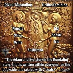 #kundalini #adamandeve #ida #pingala #shiva #shakti #osiris #isis #sushumna #chakras #art #alexgrey #alexgreyart #oneness #love #unity #humanity #collectiveconsciousness #higherconsciousness #cosmicconsciousness #peace #love #light #mynzahosiris #mynzah