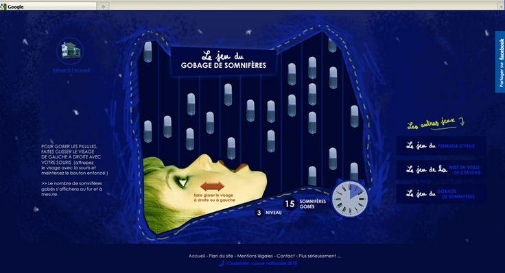 Insomnie site viral - Insomnia website - Raya AbiAad - graphic design - graphiste - Paris - français, anglais, arabe -french, english, arabi...