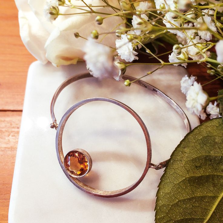 Citrine bracelet. #jewelry #jewellery #citrine #gemstone #handcrafted