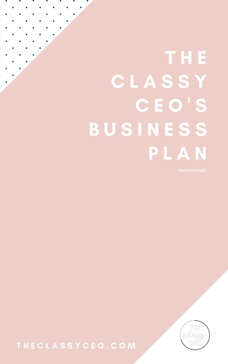 Every business needs a business plan. Just because you operate solely online, doesn't mean you don't need one! However, you don't need to write a novel either. Download the free business plan template with you in mind Classy CEO! Female entrepreneur | Entrepreneur | freebie |