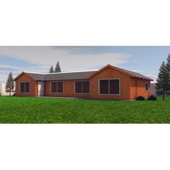 Boroa / Casa 84 M², Temuco, Labranza, Casa prefabricada en temuco