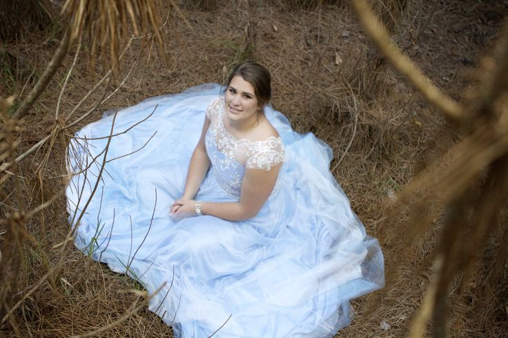 Lace bodice Prom dress by IngeCoetzer Designer studio