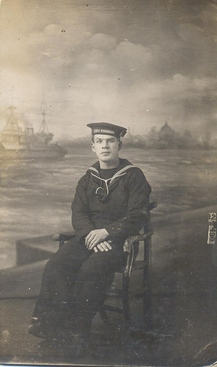 Sailor of HMS PEMBROKE