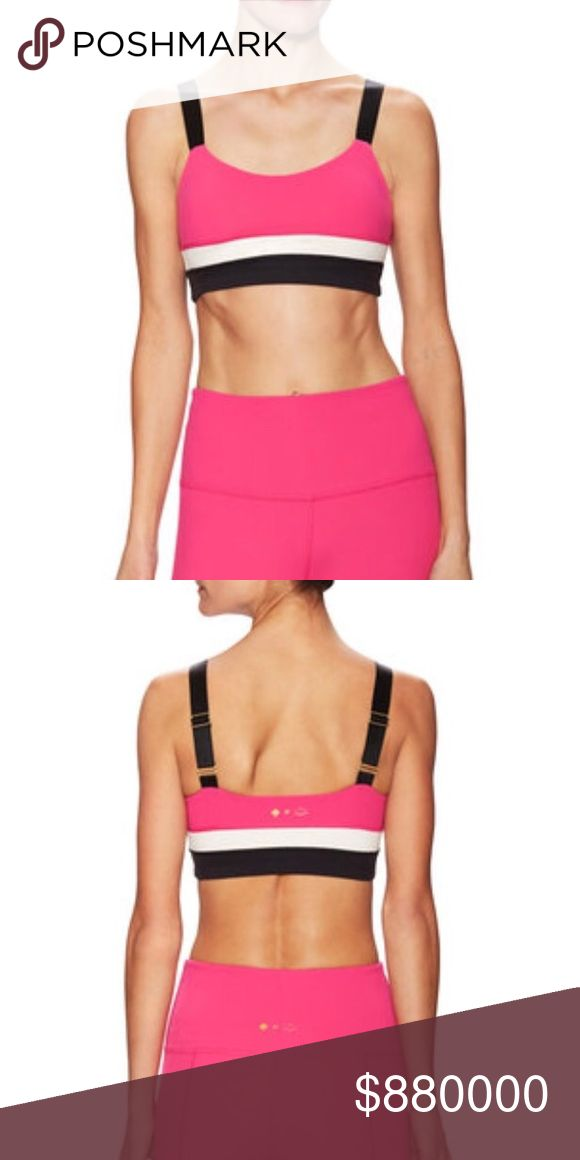Coming soon - Kate Spade x Beyond Yoga Sports Bra You just can't get a cuter workout outfit! From the collaboration between Kate Spade New York and Beyond Yoga, this pink, black and cream sports bra is made of 90% supplex, 10% Lycra. Adjustable straps. Actual photos and details coming soon! Like this listing to be notified when it's available (by price drop). kate spade Intimates & Sleepwear Bras
