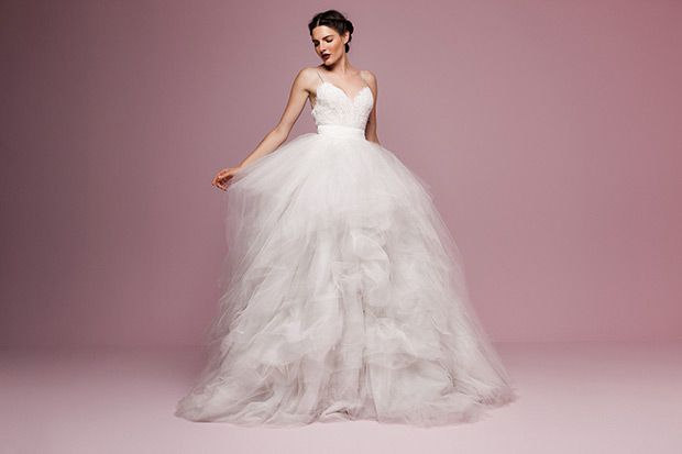 Fabulously Feminine - The Flower Collection | see all the gorgeous gowns on www.onefabday.com