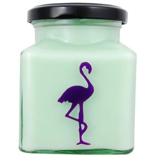 Asian Pear & Plum Flamingo Candle