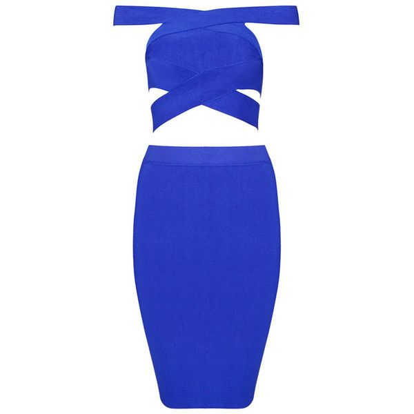 Honey couture michelle electric blue cut out bandage dress ($169) ❤ liked on Polyvore featuring dresses, cutout dresses, sexy royal blue dress, royal blue bandage dress, couture dresses and sexy bandage dresses