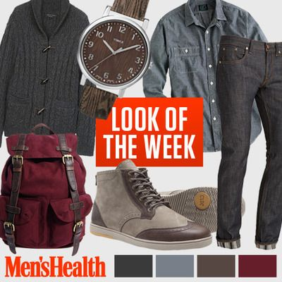 Step out for fall in these hues and textures. Cardigan: Rag and BoneShirt: J. CrewJeans: J BrandShoes: ClaeBag: AsosWatch: Timex