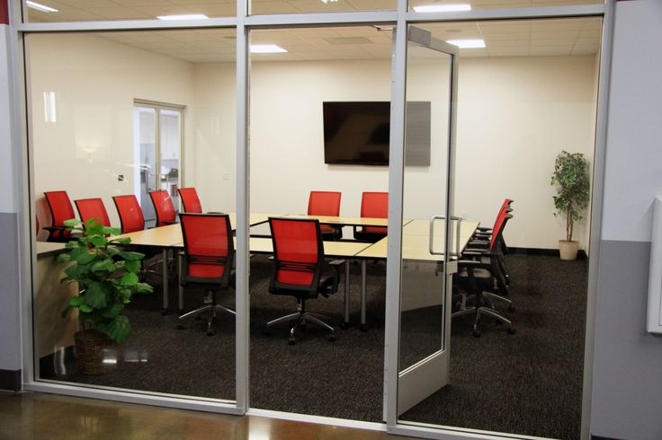 Conference room Open and ready for rental.