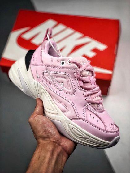 9a998842e664 Nike M2K Tekno Pink White Black discount shoe bar Shoe Nike Air Monarch