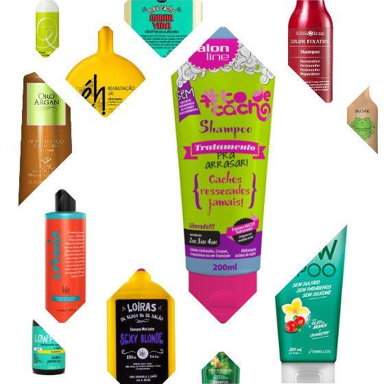 Feirinha Chic : 50 shampoos sem sulfato (low poo) - Para todos os ...