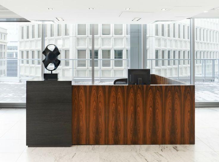 Annapolis Capital Office GRIGIO CENERE MARBLE  reception_desk#carreaux#honed #commerial#black#noir#inspiration#creation #design#designers#interior#interieur#space #espace#decor