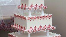 professionali wedding cake punte torta nuziale chiavi del successo torta di fidanzamento
