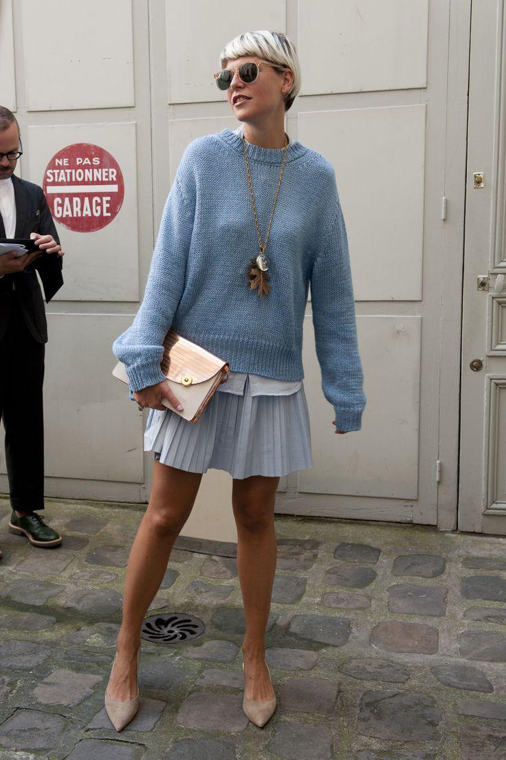 Street fashion: Paris Fashion Week Elisa Nalin