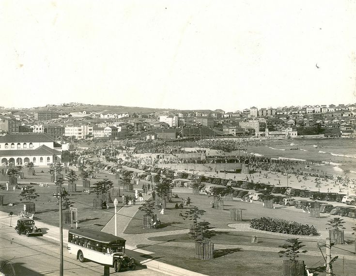 View of the northern end of Bondi Beach | by State Records NSW