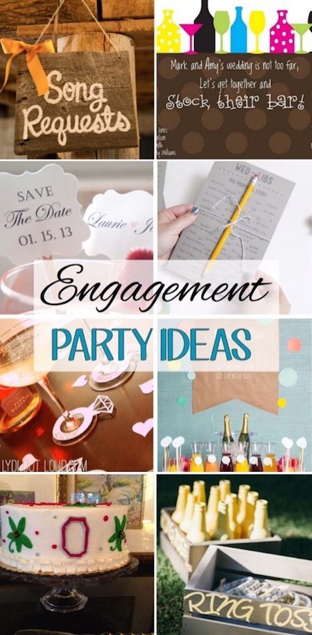 These engagement party ideas look so fun!