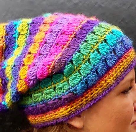 De Cluster Stitch Slouch Hat oftewel de Cluster Steek Flaphoed! - Lindevrouwsweb
