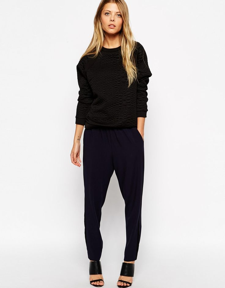 I love a pair of joggers! Especially when styled with heels for a nice clash of styles. Or try with trainers but with a long striped shirt for a comfier clash :)