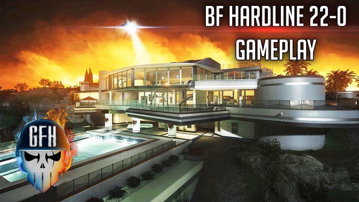 Battlefield hardline killstreak 22-0 Gameplay