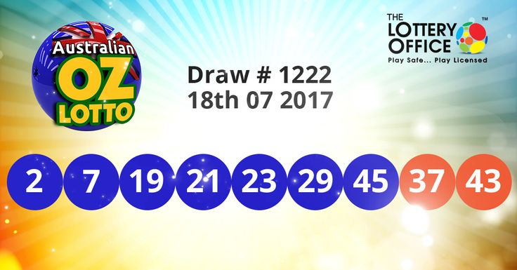 OZ Lotto winning numbers results are here. Next Jackpot: $2 million #lotto #lottery #loteria #LotteryResults #LotteryOffice