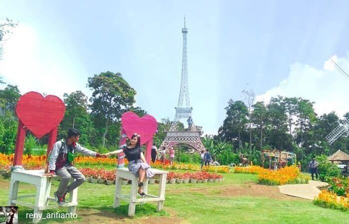 Taman Bunga Celosia Liburan Tema Luar Negeri Di Semarang Taman Bunga Semarang Liburan