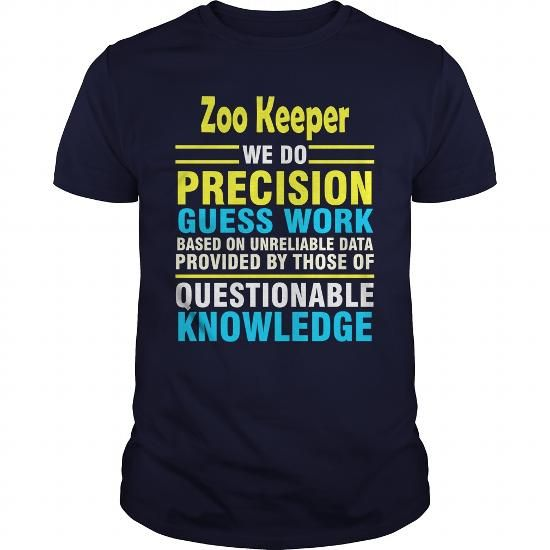 Make this awesome proud Zoo Keeper:  Zoo Keeper job title as a great gift Shirts T-Shirts for Zoo Keepers