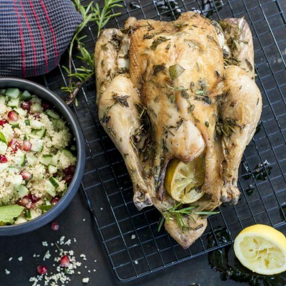 Zodra de kip in de oven staat, vult het huis zich met een heerlijke geur. #barbecue #recept #JumboSupermarkten