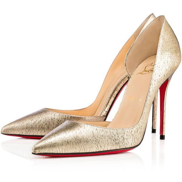 IRIZA LAMINATO ANIMAL, Platine, Specchio/Laminato, Women Shoes,... ($590) ❤ liked on Polyvore featuring shoes, pumps, louboutin, animal shoes, cutout shoes, cut out pumps, formal shoes and cut out shoes