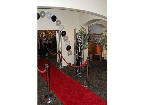 Hollywood Theme Quinceañera Party Ideas   Photo 7 of 8   Catch My Party
