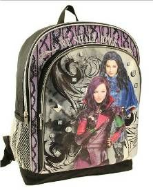 "Disney ""Descendants"" backpack at Target. http://grown-up-disney-kid.tumblr.com/post/125882850249/disneys-descendants-dvd-and-merchandise"