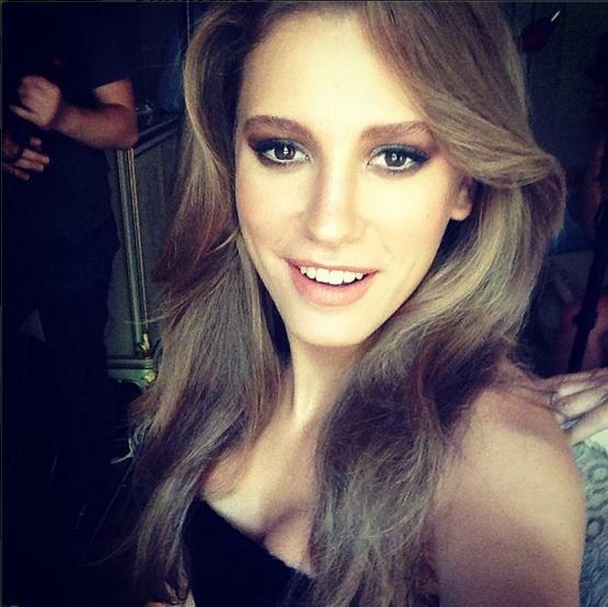 Serenay Sarıkaya. She's very beautiful..