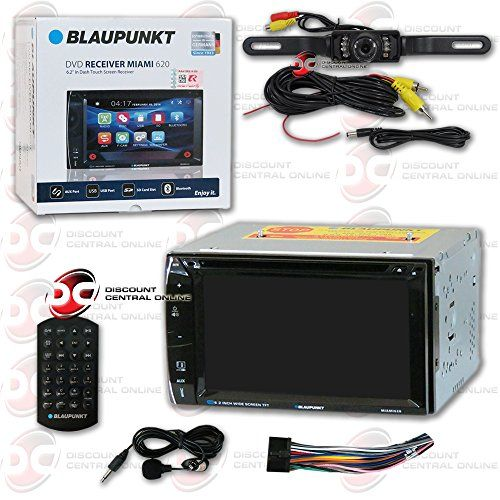 Blaupunkt Car audio Double DIn 2DIN 6.2 Touchscreen DVD MP3 CD stereo Bluetooth + Remote & DCO Waterproof Backup Camera with Nightvision. For product info go to:  https://www.caraccessoriesonlinemarket.com/blaupunkt-car-audio-double-din-2din-6-2-touchscreen-dvd-mp3-cd-stereo-bluetooth-remote-dco-waterproof-backup-camera-with-nightvision/