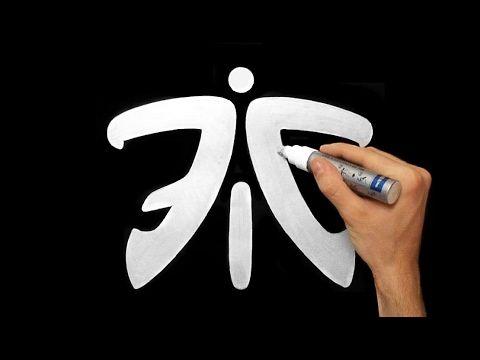 CS:GO Fnatic Logo Fan Art Drawing