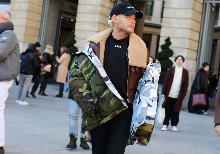 Phil Oh's Best Street Style Pics From the Paris Fall 2017 Men's Shows