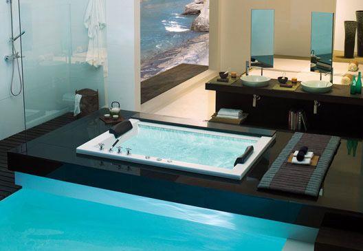 KASCH IN-FLOOR BATHTUBS