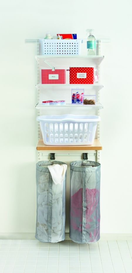 74 best images about love your laundry on pinterest for Limited space storage solutions