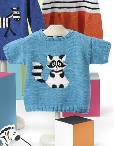 Book Baby 80 Spring / Summer | 45: Baby Sweater | Dark turquoise / Black / White