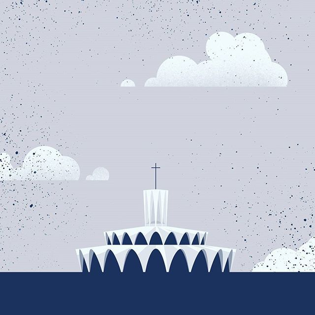 Just finished up some fun illustration + infographic work with The Priory. The St. Louis Abbey is truly beautiful. . . #illustration #infographic #design #stl #stlouis #stlouisabbey #drawing #vector