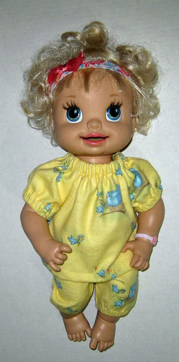 Baby Alive Bluebird Pajama Set Doll Clothes Made In Usa 14